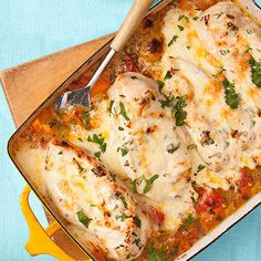 Cheesy Chicken Bake: a one-pot wonder that's done in 15 minutes