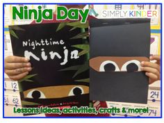 Ninja Day freebie~ Perfect for the last week of school theme days.