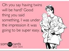 Twins meme Pinned by BabyBump, the app for pregnancy -babybumpapp.com
