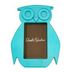 AQUA OWL FRAME, from Dwell Studio.    Great color