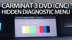 How to enter hidden menu in #Carminat 3 DVD #Renault CNC #GPS #Espace #Laguna #Koleos #Scenic #VelSatis #cars