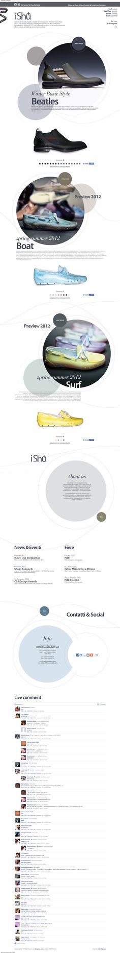 Web Design Inspiration - www.ishuplus.com/IT.php