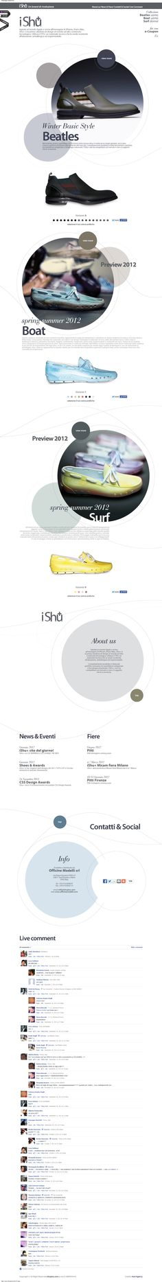 Web Design Inspiration - www.ishuplus.com/IT.php