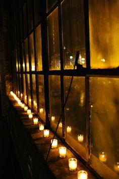 Dream Wedding Venue | Candle treatment at Salvage One #CupcakeDreamWedding