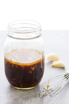 The BEST easy Stir Fry Sauce Recipe! Use this simple homemade sauce in your favorite stir fry recipes - chicken, beef, shrimp, or vegetable stir fry. This healthy sauce is made with ginger, garlic and honey and can be spicy or not. The BEST Stir Fr