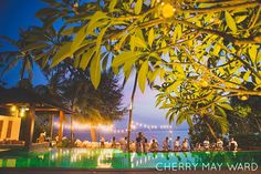 InAsia Koh Samui wedding villa with pool, reception lighting details, Thailand…