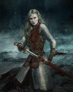 A place to share and appreciate fantasy and sci-fi art featuring reasonably portrayed women. Dungeons And Dragons, Fantasy Characters, Fantasy, Fantasy Artwork, Tolkien Art, Fantasy Art, Art, Medieval Fantasy, Warrior Woman
