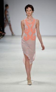 love lavender+ neon pink :: Alice McCall 2012
