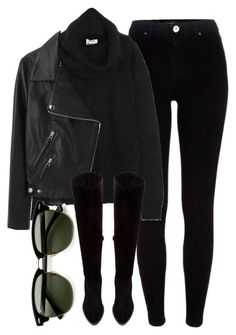 """""""Untitled #6065"""" by laurenmboot ❤ liked on Polyvore featuring River Island, Acne Studios, Zara and Ray-Ban"""