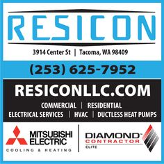 Exhibitors of the Tacoma Home + Garden Show Garden Show, Home And Garden, Ductless Heat Pump, Residential Electrical, Landscaping Company, Interior Design Companies, Heating And Cooling, List