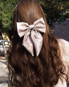 Hair Bows, Love Her, Princess, Boss, Fashion, Ribbon Hair Ties, Moda, Fashion Styles, Hairbows