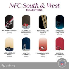 NFL Collection by Jamberry! Who are you rooting for this football season?  NoelMWheaton.jamberrynails.com