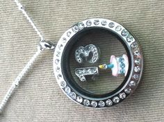 """What a great way to show it's your birthday!!! https://www.facebook.com/owlsurvive Origami Owl Living Lockets! Personalize yours today! ORDER BY CLICKING ON PHOTO 1) Click """"Sign in to My Account"""" 2) Create Account 3) Happy Shopping! Designer #10657 JOIN MY TEAM! Host a party :-) Join the fun! happilynapoli@yahoo.com 330.618.6211"""