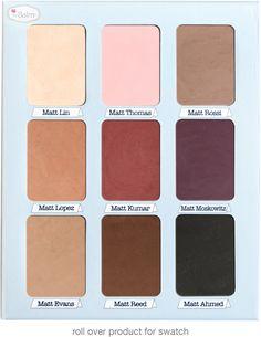 Meet Matt(e) Trimony® palette