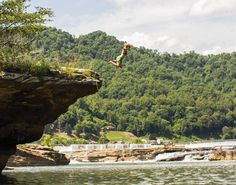 These top 12 summer swimming holes in the Blue Ridge are found beneath some of the most iconic waterfalls in the South.