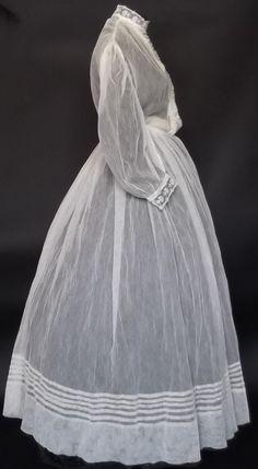 All The Pretty Dresses: Sheer American Civil War Era Dress