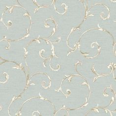 Riverside Park Ornamental Trail Scroll Wallpaper | Wayfair