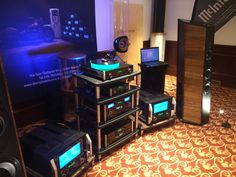 Enjoy the week end with an amazing audio system! Our racks with Sonus faber and McIntosh Laboratory Inc. during the last Milano Hi-Fidelity. A special thanks to our partner MPI Electronic. #bassocontinuo #madeinitaly #audiorack #thebestornothing #mpielectronic #audioshow #audiophile #altafedeltà #sonusfaber #mcintosh #luxury #design #vinyl #turntables #loudspeakers #giradischi #vinile #enjoy #bespoke #music