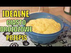 Przepis na IDEALNE ciasto drożdżowe - YouTube Polish Recipes, Cake Cookies, Sweet Recipes, Mashed Potatoes, Bread, Ethnic Recipes, Food, Sissi, Youtube