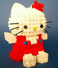 Hello kitty in Lego