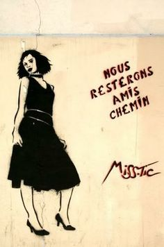 Miss-Tic Street Art Graffiti, Land Art, Street Artists, Urban Art, Pop Art, Art Drawings, Photos, Pictures, Painting