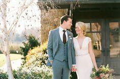 Elegante und rustikale Hochzeit