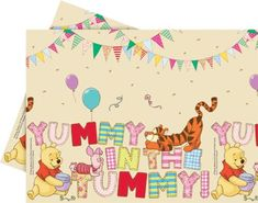 From 3.49 Amscan Winnie Alphabet Table Cover