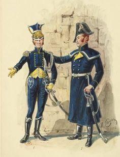 Ufficiali della legione polacca del Regno di Napoli