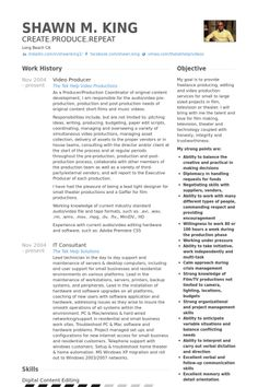 12 best WORK images on Pinterest | Resume examples, Sample resume ...