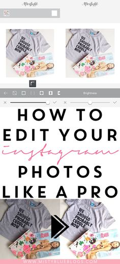 How to edit your Ins