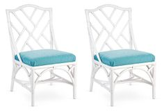 Chippendale Side Chairs, Pair on OneKingsLane.com