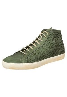 DEL BELLO - Sneakers alte - verde