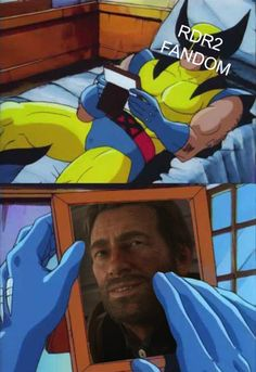 I'm gonna miss Hugh Jackman playing Wolverine Stranger Things Aesthetic, Stranger Things Funny, Doctor Who, Red Dead Redemption 1, Read Dead, Rdr 2, Rockstar Games, Vin Diesel, Persona 5