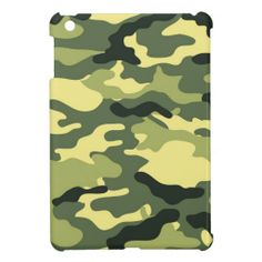 Green Camouflage Camo texture iPad Mini Case #Green #Camouflage #Camo #iPadMini #Cases