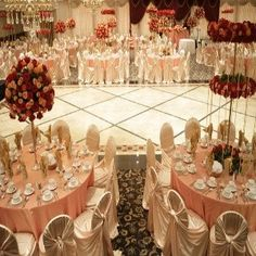 How To Decorate A Hall For Wedding - Wedding Hall Decoration Ideas | Bash Corner
