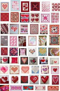 Free pattern day:  Hearts and Valentines 2015.  Updated January 31, 2015.  New patterns were added.