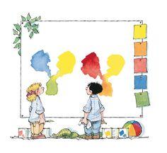 La teoría del color según Panchito - Primarios y secundarios - Gemser Libros Personalizados