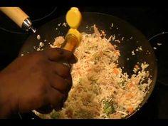 Fried Rice using shredded Cauliflower instead of rice