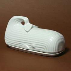 Whale Butter Dish. I don't know why I'm so attracted to this butter dish, but it's been on my butter dish wish list for years now...and will remain there until I can justify spending $68 on a butter dish.