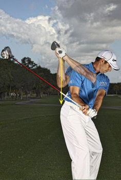 Golf Tips For Beginners The golf downswing is one of the most challenging parts of the golf swing for golfers. Learn how Masters champion Sergio Garcia makes this great golf downswing move that produces lag and more distance. Play Tennis, Play Golf, Tennis Party, Tennis Serve, Golf Party, Golf Downswing, Mens Golf, Golf Putting Tips, Golf Videos