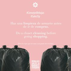 #ConsejosRebajas Haz una limpieza de tu armario antes de ir de compras. Así tendrás claras las combinaciones que puedes hacer y será más fácil seleccionar prendas. #RebajasSiamMall   #SalesTip do a closet cleaning before going shopping. That way you will have a better idea of the match you want to create and it will be easier to choose items. #SiamMallSales
