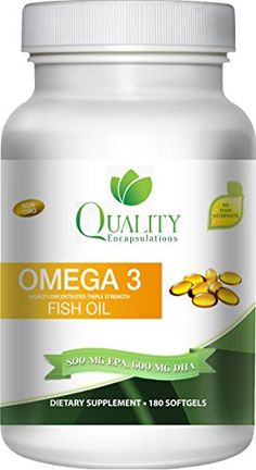 [New Arrival]  http://livinghealthysupply.com/product/omega-3-fish-oil-triple-strength-1500-mg-omega-3-fatty-acids-600-mg-dha-800-mg-epa-no-fishy-aftertaste-pharmaceutical-grade-fish-oil-available-in-180-or-60-softgels/  -  Omega 3 Fish Oil - Triple Strength - 1,500 Mg Omega 3 Fatty Acids - 600 Mg DHA 800 Mg EPA - No Fishy Aftertaste - Pharmaceutical Grade Fish Oil - (Available in 180 or 60 Softgels) #health