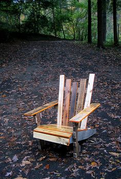 New furniture I am going to build with my newly found pallets