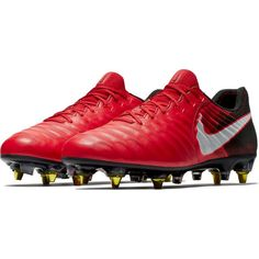 a5a876375 Nike Tiempo Legend VII SG-Pro AC Soft Ground Soccer Cleat - Univeristy Red/ White/Black/Bright Crimson | SOCCER.COM. Ice PackFootball BootsSoccer ...