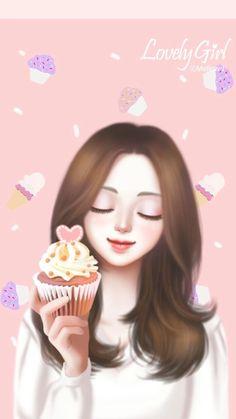 1145 Best Lovely Girl Images Korean Anime Korean Art Korean