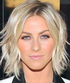 Hair color // Hair Cut // Short Bob // Curls // Waves // Julianne Hough