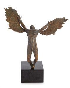 Icarus+Sculpture+by+Michael+Aram+at+Neiman+Marcus.