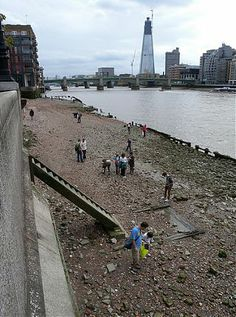 Go 'Mudlarking' along the River Thames, London. At low tide you can be a Mudlark and search for hidden treasure! Really interesting and great fun, don't forget your wellies!