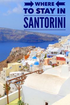 Wondering what is the best accommodation for Santorini? The article includes photos and details of what we believe is the ultimate best location and hotel on this popular Greek island.