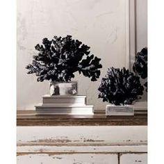Black coral decor